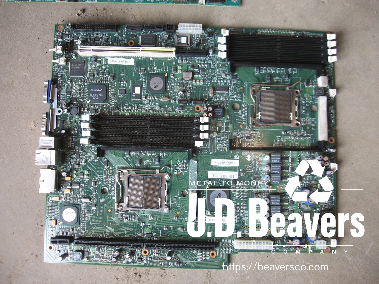 recycle CPU computers boards